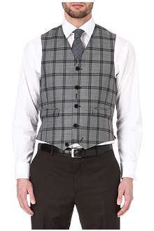PAUL SMITH LONDON Checked waistcoat