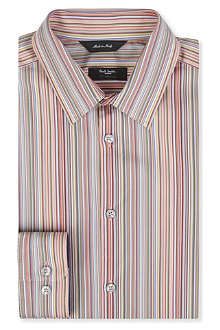 PAUL SMITH LONDON Byard classic micro multi-stripe shirt