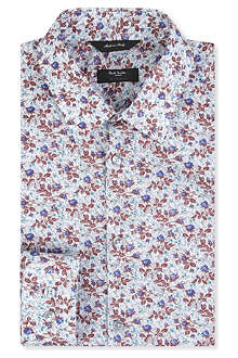PAUL SMITH LONDON Westbourne rosebud floral shirt