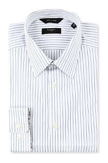 PAUL SMITH LONDON Westbourne wide-striped classic-fit shirt