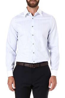 PAUL SMITH LONDON Westbourne striped double-cuff shirt