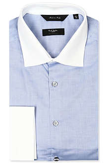 PAUL SMITH LONDON Spread-collar French-cuff shirt