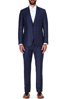 PAUL SMITH LONDON Byard check wool-cashmere suit
