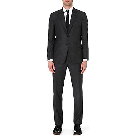 PAUL SMITH LONDON Byard micro-gingham suit (Black