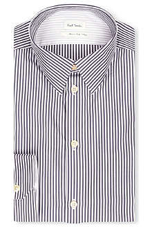 PAUL SMITH MAINLINE Contrast back striped single-cuff shirt