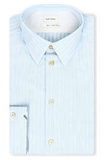 PAUL SMITH MAINLINE Heavy striped cotton shirt