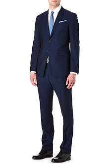PAUL SMITH LONDON Westbourne wool and mohair-blend suit