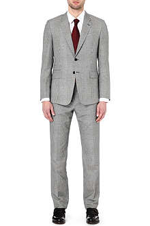 PAUL SMITH LONDON Checked single-breasted suit