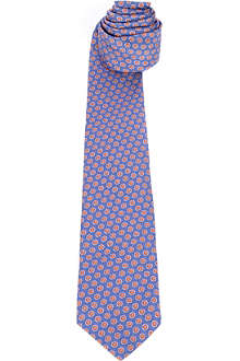 PAUL SMITH Circles silk tie