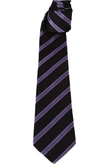PAUL SMITH Diagonal multi-striped tie