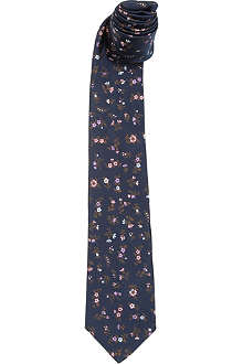 PAUL SMITH Multi-floral tie