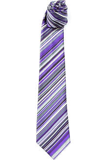 PAUL SMITH Multicoloured striped tie