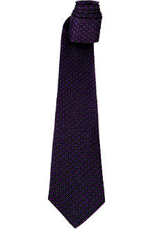 PAUL SMITH Dots and Spots silk tie