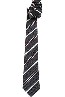 PAUL SMITH Classic diagonal stripe tie
