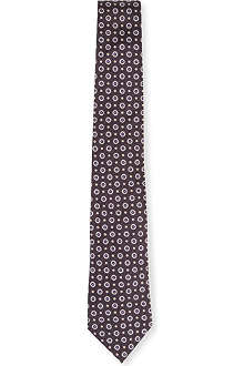 PAUL SMITH Dot flowers tie