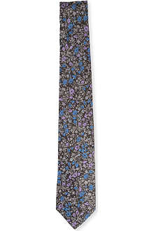PAUL SMITH Contrast floral pattern tie