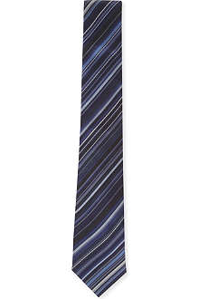 PAUL SMITH Multi-stripe silk tie