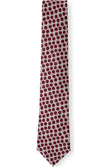 PAUL SMITH Big contrast spot tie