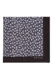 PAUL SMITH Floral print pocket square