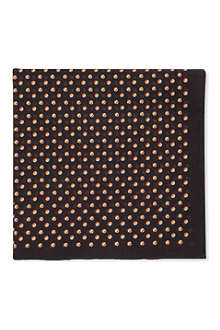 PAUL SMITH Multi-coloured spots pocket square
