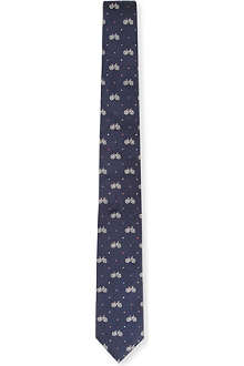 PAUL SMITH Dots and bikes tie