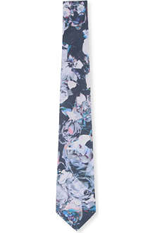 PAUL SMITH Abstract silk tie