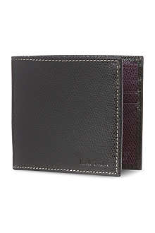 PAUL SMITH LONDON Pebbled leather billfold