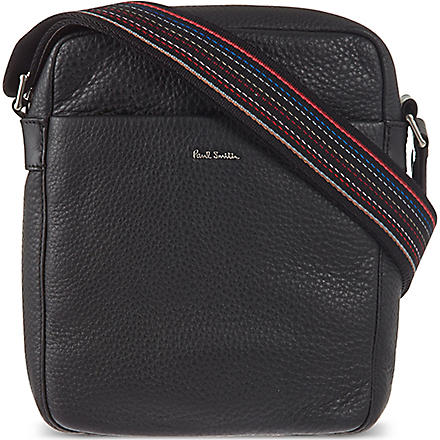 PAUL SMITH LONDON City Webbing reporter bag (Black