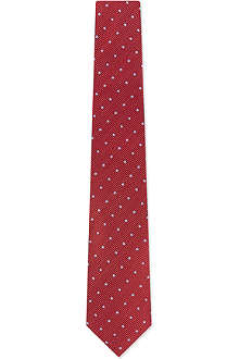 PAUL SMITH Pin dot silk tie