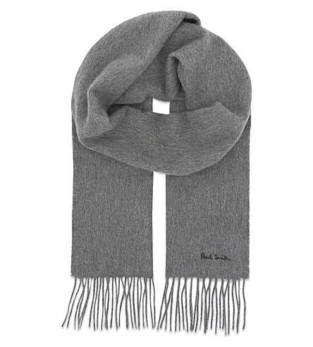 PAUL SMITH Cashmere scarf (Grey