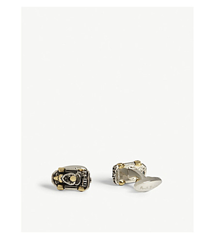 PAUL SMITH Go Kart cufflinks (Black