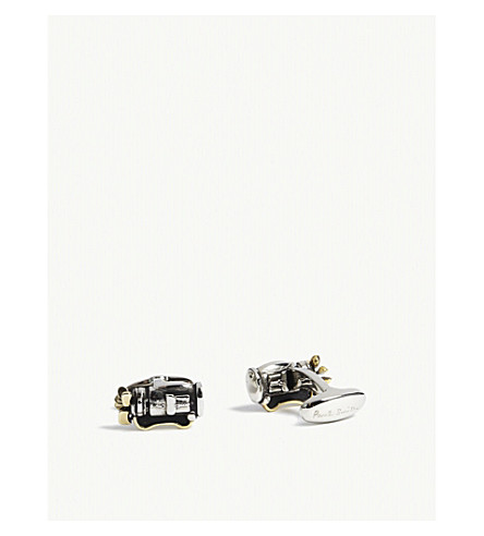 PAUL SMITH Golf club cufflinks (Black