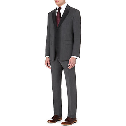 PAUL SMITH LONDON Three-piece stripey wool suit (Grey