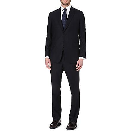 PAUL SMITH LONDON Rainbow dot three-piece suit (Navy