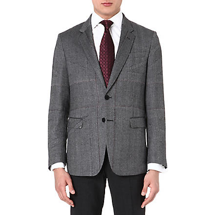 PAUL SMITH LONDON Single-breasted wool jacket (Grey