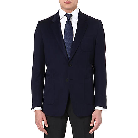 PAUL SMITH LONDON Single-breasted wool jacket (Navy