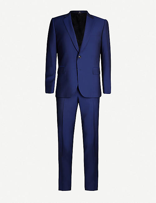 PAUL SMITH Soho-fit wool and mohair-blend travel suit