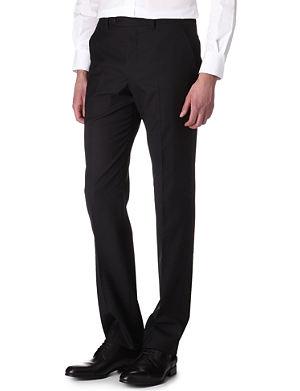 PAUL SMITH LONDON Slim-fit wool trousers