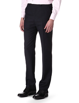 PAUL SMITH LONDON Slim-fit wool trousers