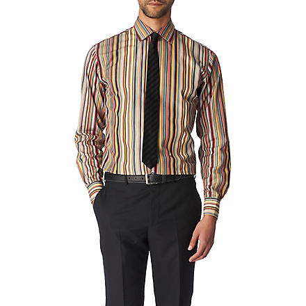 PAUL SMITH LONDON Smithy slim fit single cuff shirt (Multi