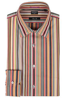 PAUL SMITH LONDON Multi-stripe shirt
