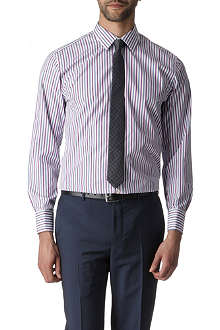 PAUL SMITH LONDON Bold stripe slim fit double cuff shirt