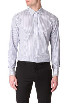 PAUL SMITH LONDON Striped slim-fit double-cuff shirt