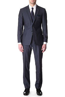 PAUL SMITH LONDON The Floral slim-fit striped suit