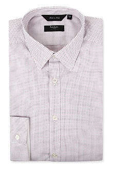 PAUL SMITH Micro-dot tailored shirt