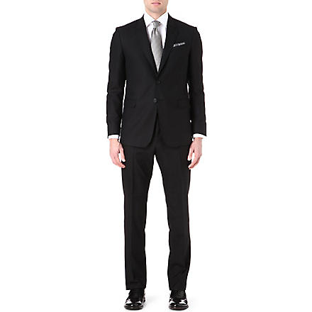 PAUL SMITH Two-piece wool suit (Black