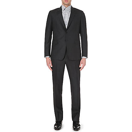 PAUL SMITH Slim-fit byard wool suit (Grey