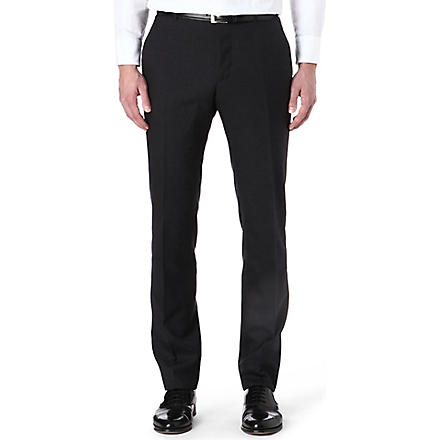 PAUL SMITH LONDON Tailor-fit wool trousers (Grey
