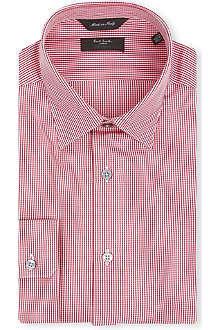 PAUL SMITH Tailored-fit cotton shirt