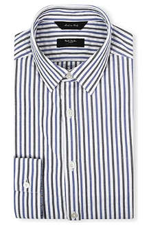 PAUL SMITH Tailored-fit striped shirt